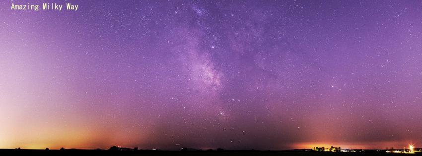 Milky Way Facebook Cover
