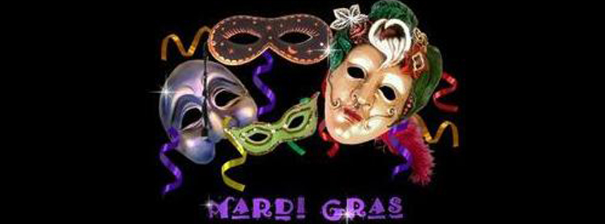 Mardi gras 2014 facebook covers photo