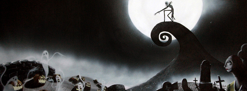 Nightmare before christmas facebook banner pics_Timeline covers