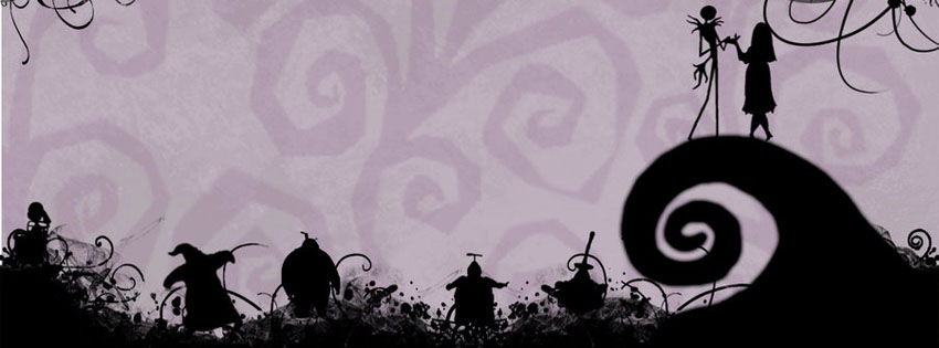 Nightmare before christmas facebook covers photo_Timeline covers