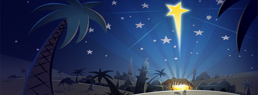 religious christmas facebook cover photo